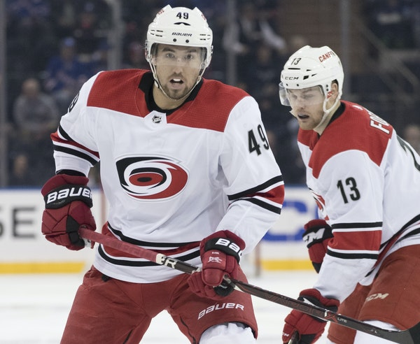 New Wild center Victor Rask was acquired from Carolina for winger Nito Niederreiter in a move that might have more long-term than short-term benefits.