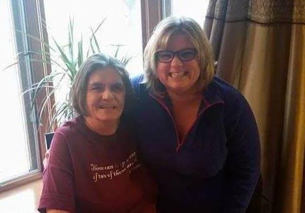 Eileen Mark, left, and daughter Jennifer Angerhofer
