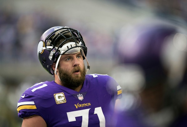 Source: Vikings pondering a change with left tackle Reiff
