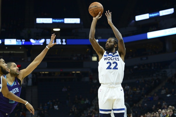Wolves forward Andrew Wiggins knows a short three-point shot is preferable to a long two-pointer. but says he'll shoot from anywhere in a game if he