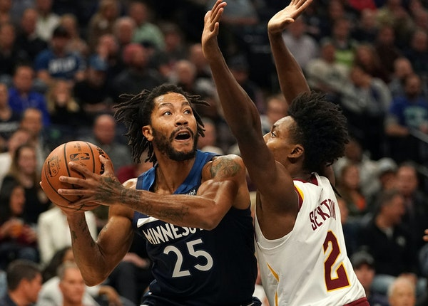 Derrick Rose as an MVP in Chicago before he was ravaged by injuries. Now he's back near the top of NBA All-Star voting, but is again injured.