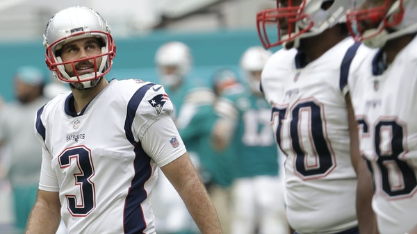 Stephen Gostkowski has been the Patriots' regular placekicker since 2006, typical of kickers for Bill Belichick, who has had three full-time kickers
