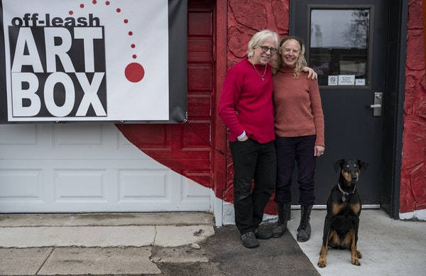 Paul Herwig and Jennifer Ilse opened Off-Leash Art Box in south Minneapolis last winter. The new performance space comes at a time when a rash of smal