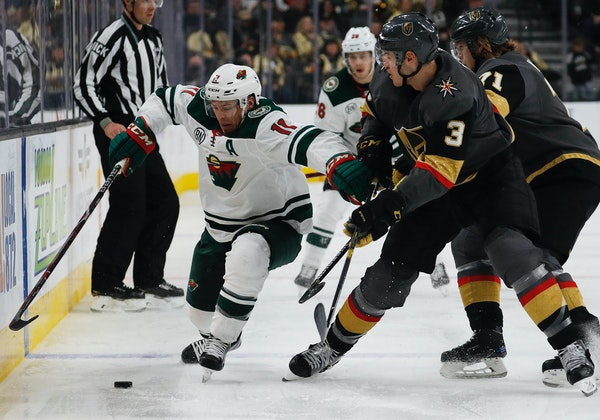 Wild shines on both sides of the puck in outdueling Vegas