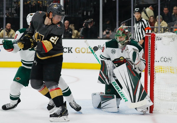 Penalty kill comes up huge in Wild's win over Golden Knights