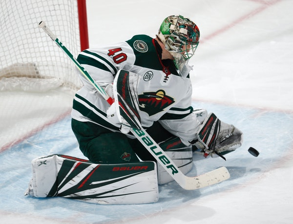 Devan Dubnyk went 2-0 last week with the Wild before making 25 saves at the All-Star Game.