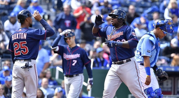 With Joe Mauer (7) retired, much of the Twins future depends on Byron Buxton and Miguel Sano.