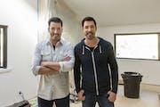 "HGTV's favorite home-improvement twins: ""Property Brothers"" Jonathan Scott, left, and Drew Scott."