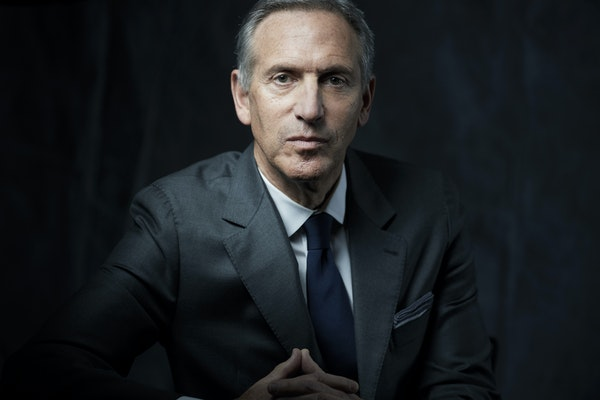 Howard Schultz, the chairman and former chief executive of Starbucks, in New York in 2017. Schultz's decision to retire from Starbucks at the end of