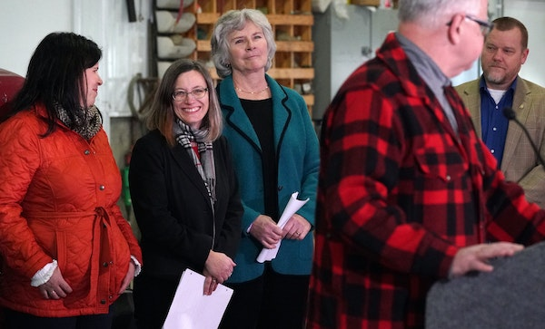 Gov.-elect Tim Walz on Thursday entrusted Sarah Strommen with the state's most visible cabinet position, and the one with the hottest seat. Strommen