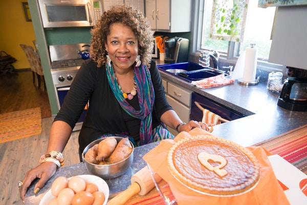 """Rose McGee, who owns Deep Roots Gourmet Desserts, said sweet potato pie is """"the sacred dessert of black culture."""""""