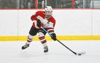 Lakeville North junior center Sydney Antonakis lined up a shot in a section quarterfinal victory over Rochester Century. The shot resulted in one of h