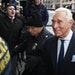 Former campaign adviser for President Donald Trump, Roger Stone arrives at Federal Court, Tuesday, Jan. 29, 2019, in Washington. Stone was arrested in