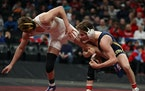 After three consecutive runner-up finishes in the wrestling state meet, Totino-Grace senior Jake Svihel won his first individual championship by defea