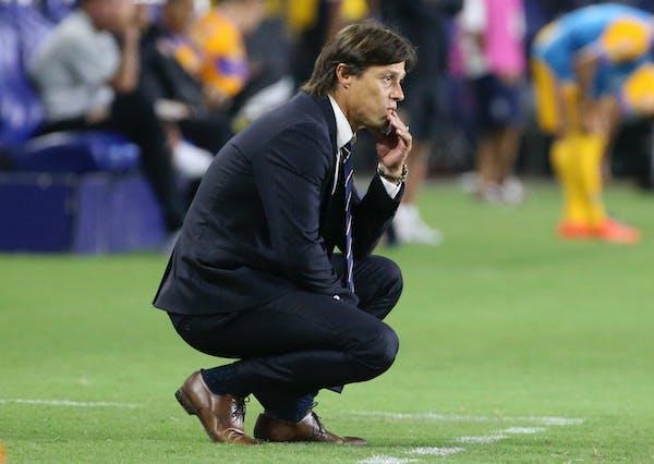 New Earthquakes coach Matias Almeyda coached for Chivas de Guadalajara in Mexico last season.