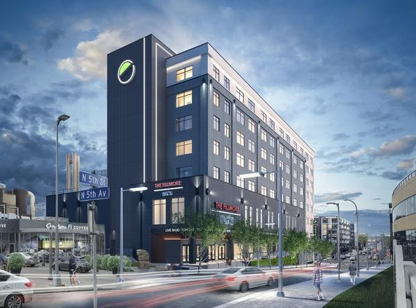 The Minneapolis Fillmore Theater will be part of a development including an Element by Westin Hotel near Target Field Station in the North Loop.