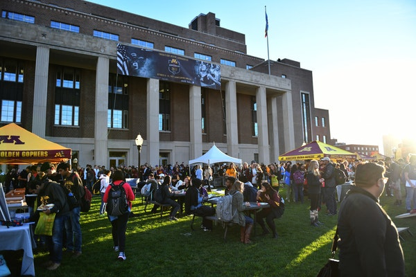 The data request came over the controversy after University of Minnesota students had called for the renaming of Coffman Memorial Union, shown, and th
