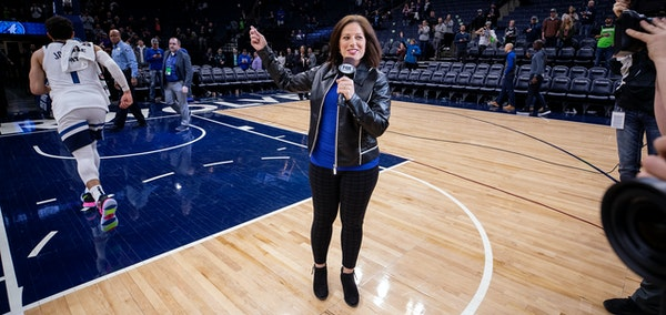 Marney Gellner of Fox Sports North interviews NBA players such as Wolves guard Tyus Jones all the time. Her next planned conquest: Twins baseball play