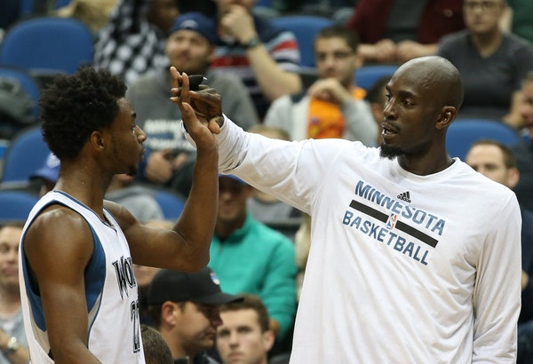 KG wants to 'light fire' under Wiggins, tells him he's mad at him