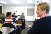 An Argosy University classroom in 2004. The Eagan campus will close Friday after weeks of uncertainty for the troubled network of for-profit schools.