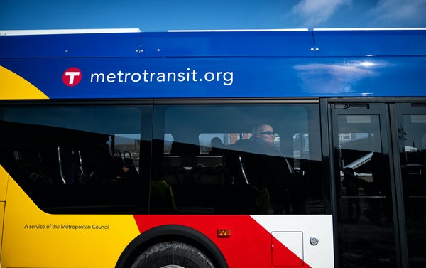 Getting more Minneapolis residents to use public transportation, like Metro Transit busing, is part of the 2040 plan.