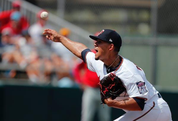 Minnesota Twins starting pitcher Jose Berrios