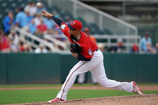 Twins pitcher Mike Morin hops his nasty changeup has attracted enough attention to crack the major league roster.