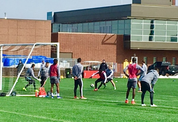 Minnesota United moves outdoors to prepare for game at New England