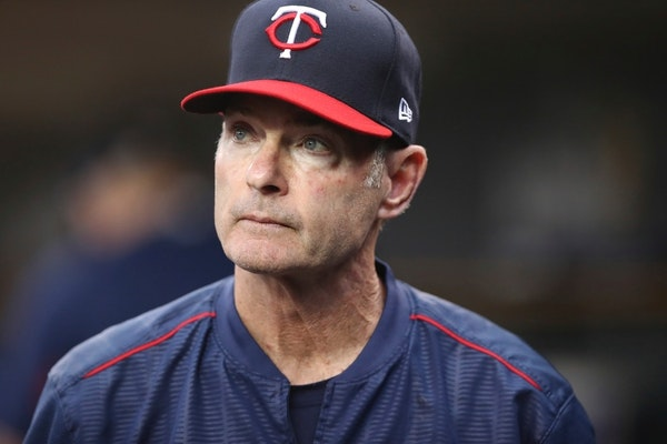 Former Minnesota Twins manager Paul Molitor in June 2018. His 12-year-old son Ben wanted to see some baseball over spring break.