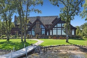 Denny Hecker's former main lodge-style retreat is $4 million.