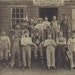 Carl Gottlieb Uber came to Hartford, Wis., in 1854 from Europe to continue the family tanning business. Three of his four sons are shown in this 1900-