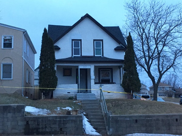 Minneapolis police spokesman John Elder said investigators are treating an abandoned North Side house as a crime scene after a woman's body was found