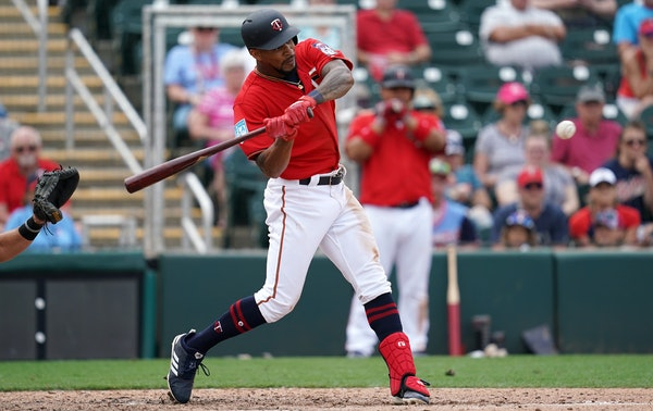 """In previewing the 2019 Twins, NBC Sports noted that center fielder Byron Buxton """"is still young enough to put it all together one year."""" The 25-ye"""