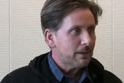 """""""I'm no stranger to working here, and I certainly love it here,"""" Emilio Estevez said."""