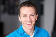 """Dave Gangler, actor and chief technology officer: """"Performing feeds my artistic soul. Software development feeds my stomach."""""""