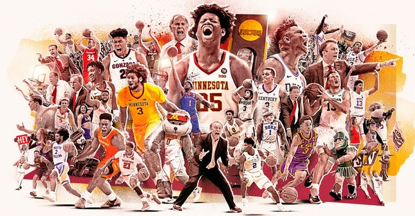 The Gophers were one of 68 teams selected for the NCAA tournament Sunday. Play begins this week and reaches its epic conclusion next month at U.S. Ban