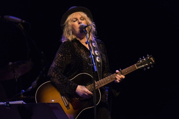 Lucinda Williams performs at the Fitzgerald Theater on Saturday, April 13, 2019.