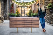 """Founder and lead designer Brianne Boettner calls Timber & Tulip's one-of-a-kind designs """"fearless."""""""