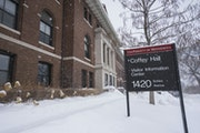 Coffey Hall on the Saint Paul campus of the University of Minnesota is among the namesakes that were targeted by U President Eric Kaler and Provost Ka
