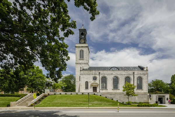 The National Churchill Museum in Fulton, Mo., was reconstructed from the WWII ruins of London's Church of St. Mary Aldermanbury.