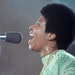 """Aretha Franklin in a scene from the film, """"Amazing Grace."""""""