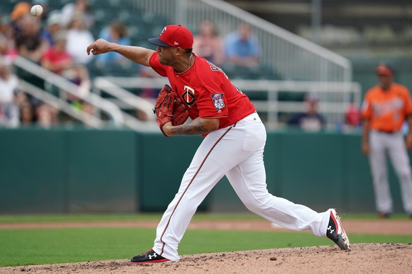 Twins starting pitcher Fernando Romero delivered a pitch earlier this spring.
