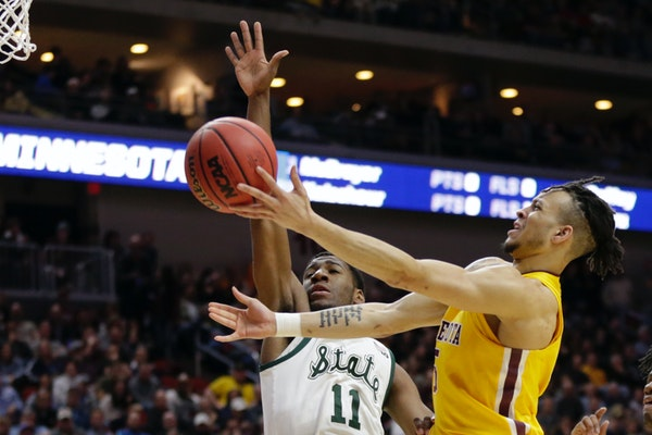 Guard Amir Coffey is one of three starters who will return to the Gophers for the 2019-20 season.