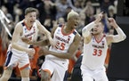After other top seeds fall, Virginia is Final Four favorite