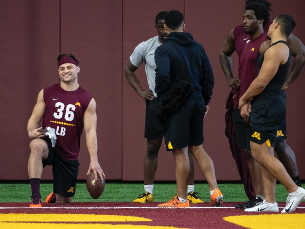 Former Gophers LB Cashman on his journey to the NFL draft