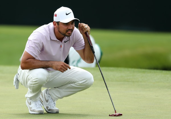 Jason Day managed his pain well Friday at the Masters. Or, he heeded his wife's advice and quietly toughed it out. Either way, his 5-under 67 booste