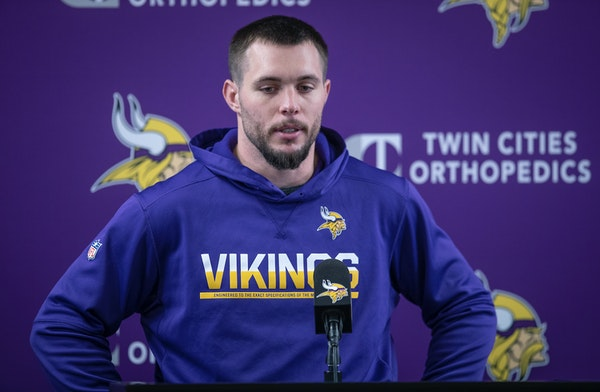 Harrison Smith's eyes became glossy as he spoke about the importance of Anthony Barr's return to the team during access Tuesday at team headquarters i
