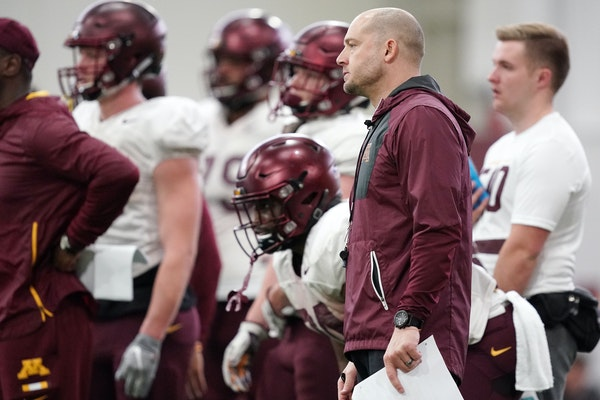 Gophers coach P.J. Fleck is pleased with the team's foundation heading into his third spring game, on Saturday at the Athletes Village.