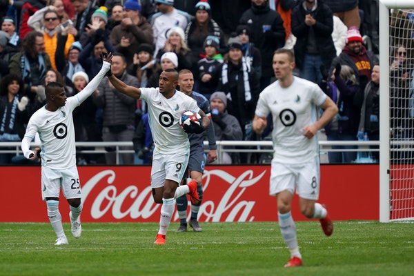 United open Allianz Field with a 3-3 tie