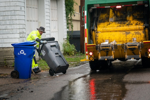 More than half of St. Paul's public works budget for organized trash collection in 2019 will go toward paying residents' delinquent bills. St. Pau